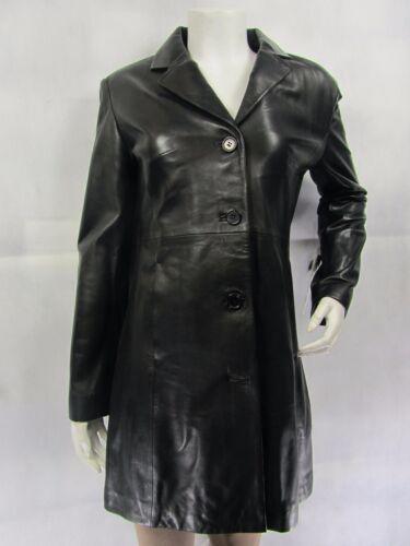 4 noir Napa femmes ajustée en cuir pour ajustée noire et aux Veste 3 7qRYpX