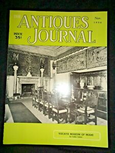 Antiques-Journal-1956-Vizcaya-Museum-of-Miami-Music-Boxes-Delft-Dolls-Corning