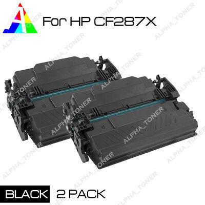 Compatible 2PK CF287X Toner Cartridge For HP LaserJet Enterprise Flow MFP M527Z