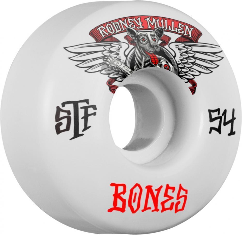Knochen - Mullen Geflügelter Mutt V1 Stf - 54mm Skateboard Räder    | Kompletter Spezifikationsbereich
