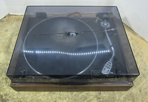 Pioneer-PL-120-Auto-Return-Belt-Drive-Stereo-Turntable-For-Parts-Or-Repair
