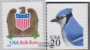 2725,2753 complete.issue. Unmounted Mint / Never Hinged 1996 Eagle Crest, Kind-Hearted U.s