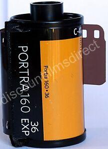 1-x-Kodak-Portra-160-35mm-36-exp-Cheap-Colour-Print-Camera-Film-1ST-CLASS-POST