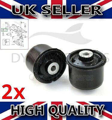 2008-2017 Rear Axle Mounting Bushes Suspension For Fiesta Mk7