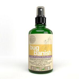 Natural-Mosquito-Spray-Bug-Banish-from-Baxter-039-s-Naturals-8-oz-Formula