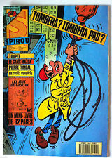 b)SPIROU N°2621; Pierre Tombal/ Le Gang Mazda/ Avec le mini-livre
