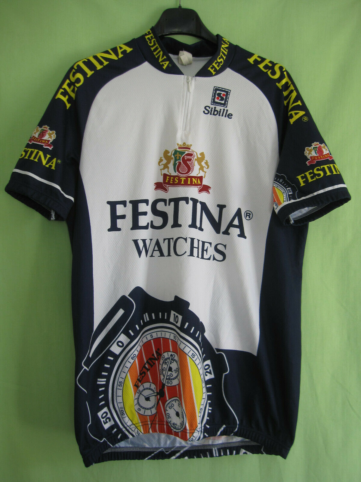 Maillot cycliste Festina Lotus Sibille Tour France jersey cycling - XL