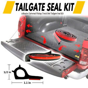 UNIVERSAL-TAILGATE-SEAL-KIT-FOR-TOYOTA-HILUX-SR5-SR-RUBBER-UTE-DUST-TAIL-GATE