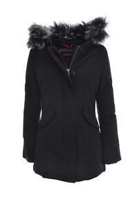 nuovi stili 26b6a 397b9 Details about CANADIAN Giubbotto parka donna pelliccia sintetica, FUNDY  SHEEPSKIN
