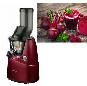 Kuvings Whole Slow Juicer Rezepte : Kuvings B 6000 Whole Slow Juicer B6000 Entsafter Saftpresse Farbe Rot + Rezepte