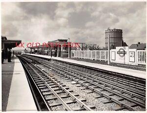 Image Is Loading Vintage Photo SOUTH HARROW Platform Tube Underground Station