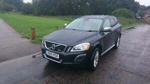 Volvo-XC60-2010-2-4-D5-R-Design-SE-Premium-Pack-Geartronic-AWD-Black-For-Sale