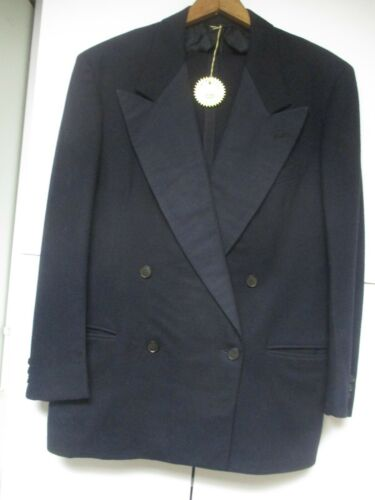 Vintage Wool 1940-50s Double Breasted-look Tuxedo