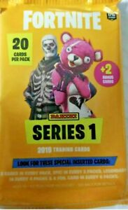 22 Cards Total 2019 PANINI FORTNITE SERIES 1 TRADING CARDS VALUE PACK 1 Pack