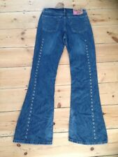 Roxy Quicksilver Flared women's Denim jeans W30 L33 size 10 stonewashed New