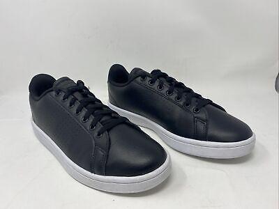 Adidas NEO Mens Cloudfoam Advantage Casual Shoe Black/White Size 10M US | eBay