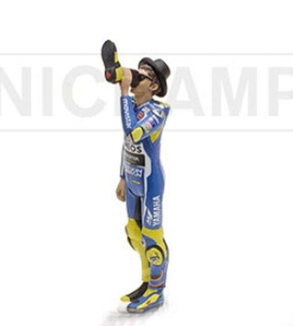 MINICHAMPS 312 160046 Valentino Rossi figurine VICTORY DRINK MotoGp 2016 1:12th