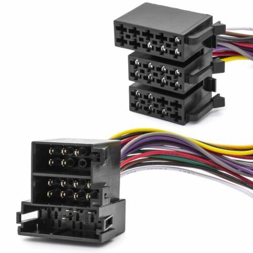 Adaptador cable iso display Umrüst nuevo en alt//tid mid radio control para Opel