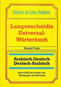 Langenscheidt deutsch arabisch