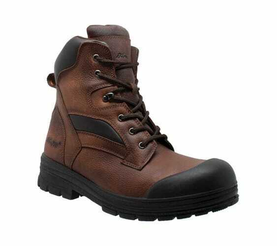 huge selection of ee8e6 b6218 AdTec Men s 9679 8 Composite Toe Work Boot Brown Full Grain Tumbled Leather