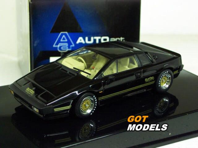 sale online quality design lowest discount AUTOart 1/43 Scale Diecast Aa55302 Lotus Esprit Turbo Black