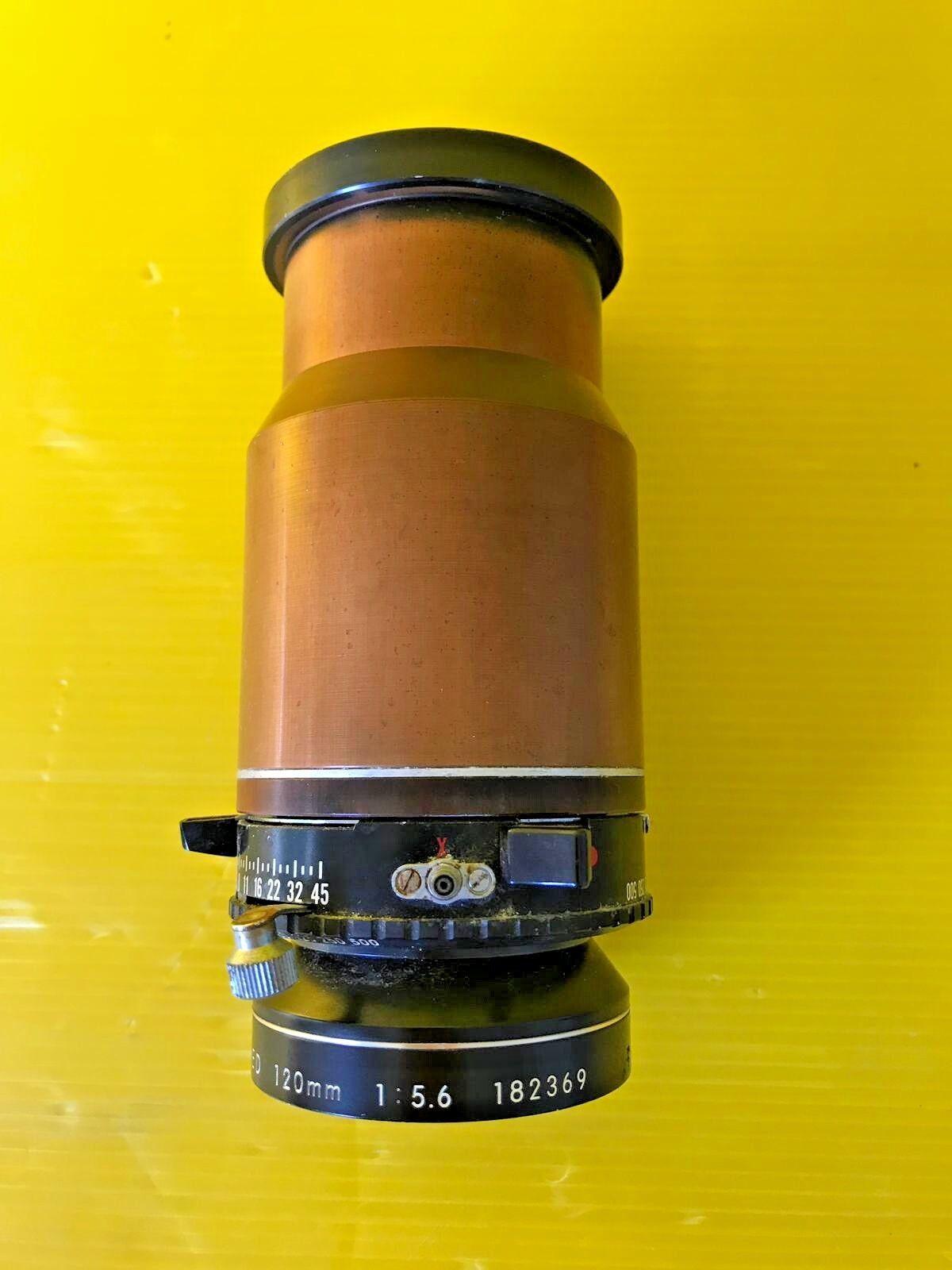 Nikon Nikkor AM ED 120mm f5.6 Large Format Macro Lens