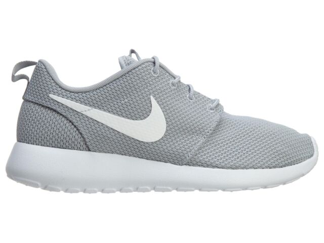 online store 4ccc4 22a6b Nike Roshe Run One Mens Shoes 9.5 Wolf Grey White 511881 023