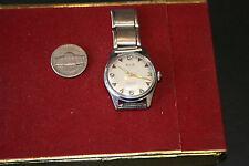 VINTAGE PERFEX 17 Jewels Swiss Movement Steel Watch