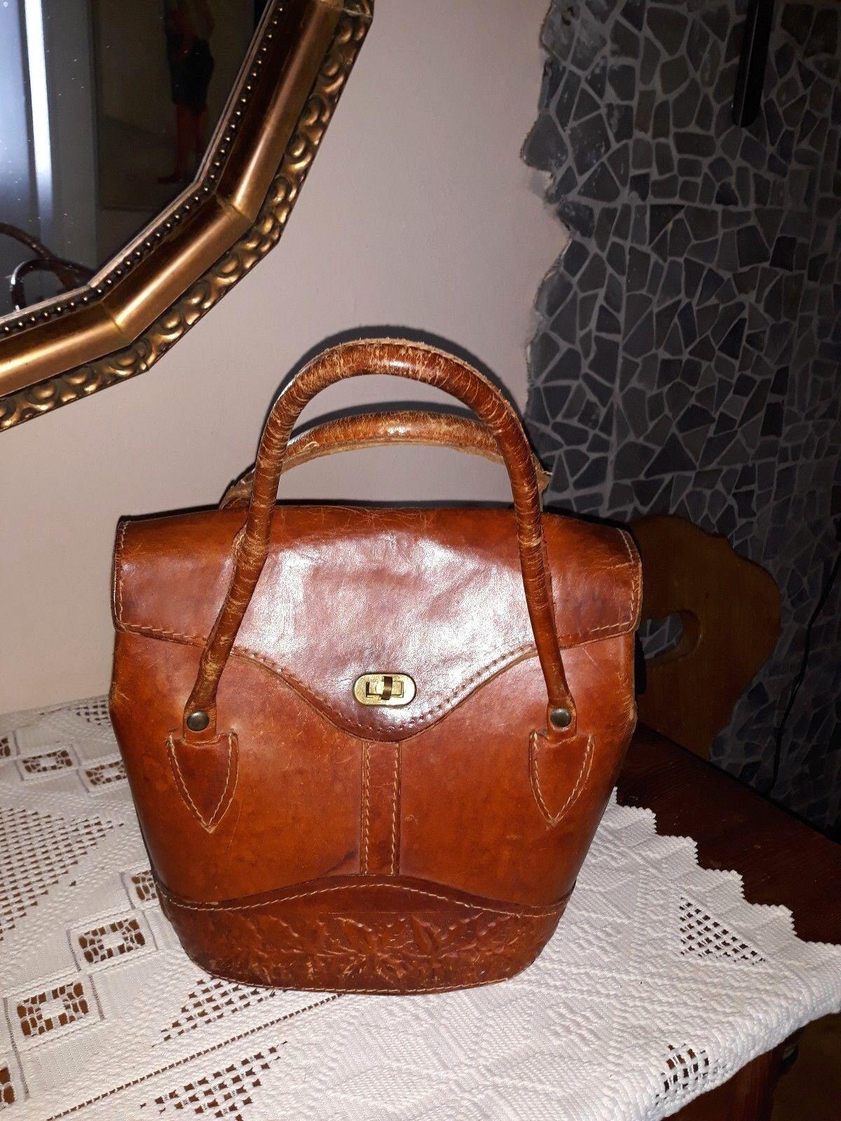 LEDER Vintage Damen Handtasche    Made in   mit Prägung | Am praktischsten  | Lebendige Form  | Qualität zuerst  | Qualifizierte Herstellung  7aec3d