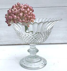 GlasEtagere-Glasschale-Etagere-Schale-a-Fuss-klar-Konfektschale-Glas