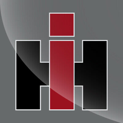 International Harvester Logo >> International Harvester Logo Ih Vinyl Decal Sticker 3 Inch To 15 Inch Ebay