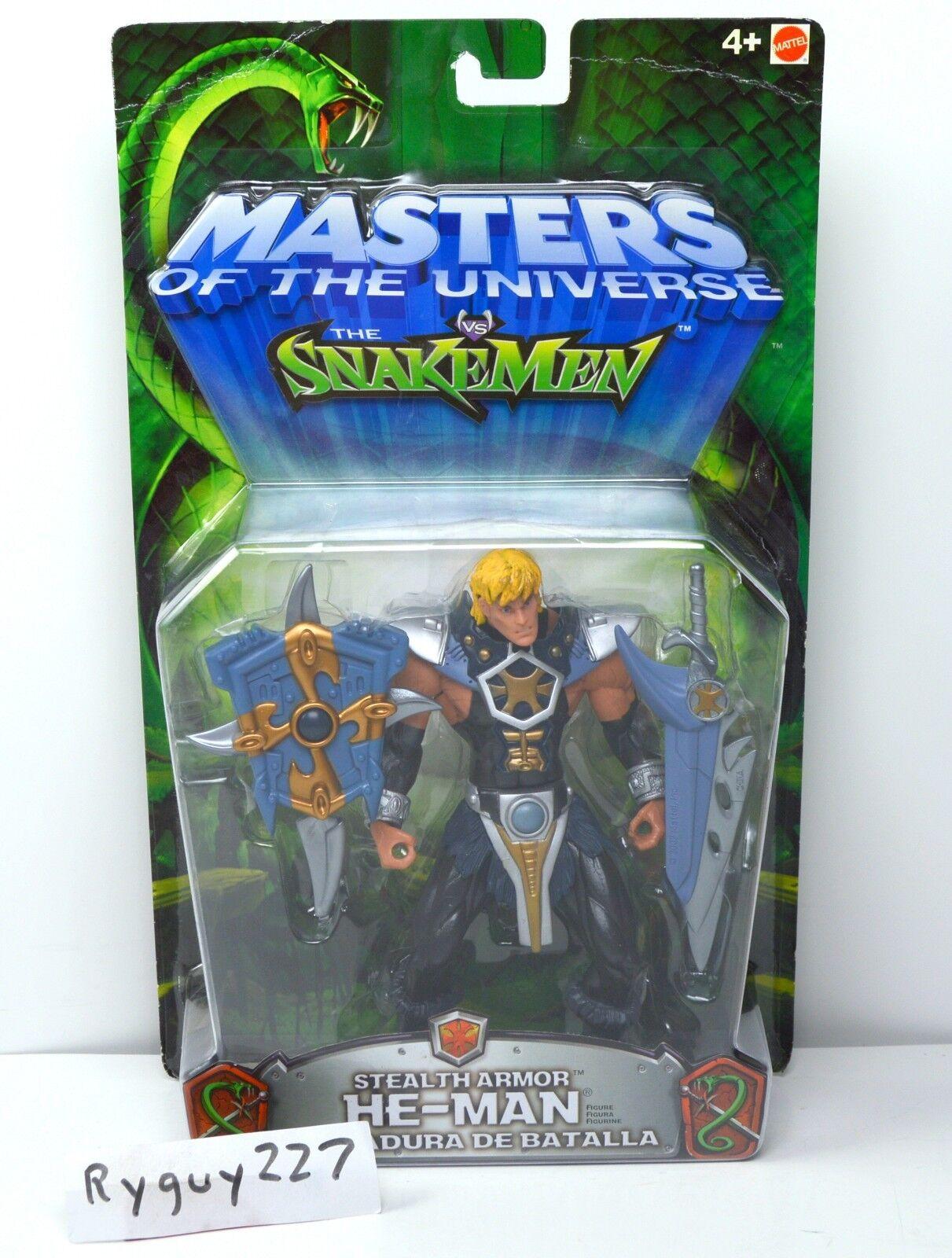 Motu, stealth - rüstung mann, 200x, meister des universums moc, gekrempelt, versiegelt