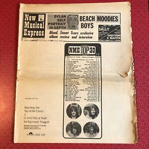 NME New Musical Express 20 June '70 - some damage/wear but complete. Beach Boys
