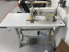 Juki Lu 1560n Double Needle Sewing Machine With Table