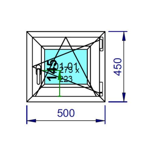 Kellerfenster Kunststoff Fenster 2 Fach Verglasung Dreh Kipp