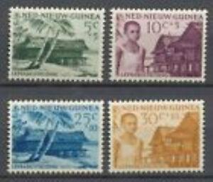 Ned-Nieuw-Guinea-41-44-Leprazegels-gestempeld-USED