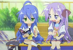 Lucky Star Clannad Poster Promo Anime Girl Official Ebay