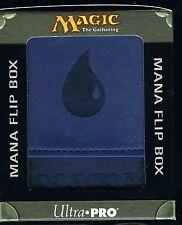 ULTRA PRO BLUE MANA  MATTE FLIP DECK BOX  MAGIC  MTG