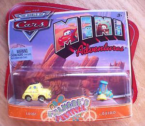 Disney-PIXAR-World-of-Cars-MINI-ADVENTURES-Fillmore-039-s-Festival-LUIGI-amp-GUIDO