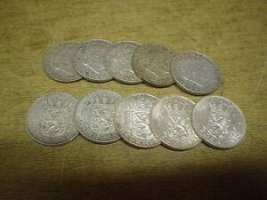 Anlegerposten-Niederlande-Silber-10-x-1-Gulden-65-gramm-Investorenpaket