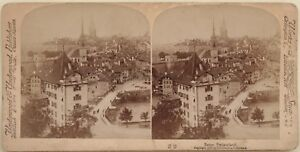 Bern-Suisse-Foto-Stereo-Vintage-Albumina-1897