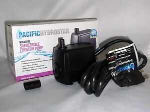 158GPH-110VAC-ADJUSTABLE-CORDED-ELECTRIC-SUBMERSIBLE-WATER-POND-FOUNTAIN-PUMP