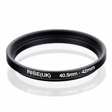 40.5mm-42mm 40.5mm to 42mm  40.5 - 42mm Step Up Ring Filter Adapter for Camera