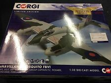 Corgi  AA34604 D.H Mosquito FBVI - HX922, EG-F, RAF 487 Sqn, of 999