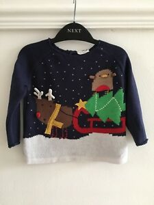 Next Christmas Jumpers.Details About Baby Boys Next Christmas Christmas Jumper Age 9 12 Months Xmas Tree Top