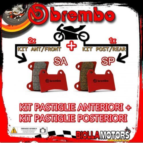 BRPADS-44678 KIT PASTIGLIE FRENO BREMBO HONDA HORNET 2001-600CC P ANT SA+SP