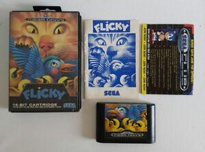 Sega-Mega-Drive-Flicky-AUS