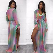 88ea8a4fd0b12 item 8 Womens Kimono Beach Bikini Cover Up Wrap Swimwear Long Skirt Sarong Kaftan  Dress -Womens Kimono Beach Bikini Cover Up Wrap Swimwear Long Skirt Sarong  ...