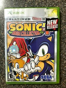 Sonic-Mega-Collection-Plus-Microsoft-Xbox-Clean-amp-Tested-Working-Free-Ship