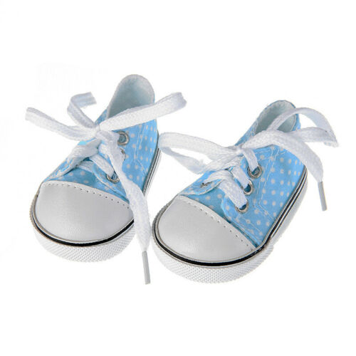18 inch American Girl Doll Accessory Doll Clothes Canvas Sneakers Gym Shoes